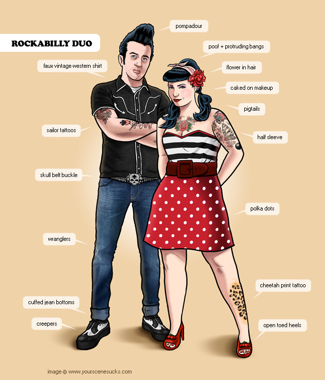 the rockabilly lifestyle is generally what happens when punk scene ...